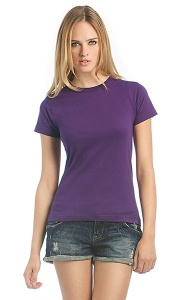 Dames T-shirt B&C Exact 190 Women